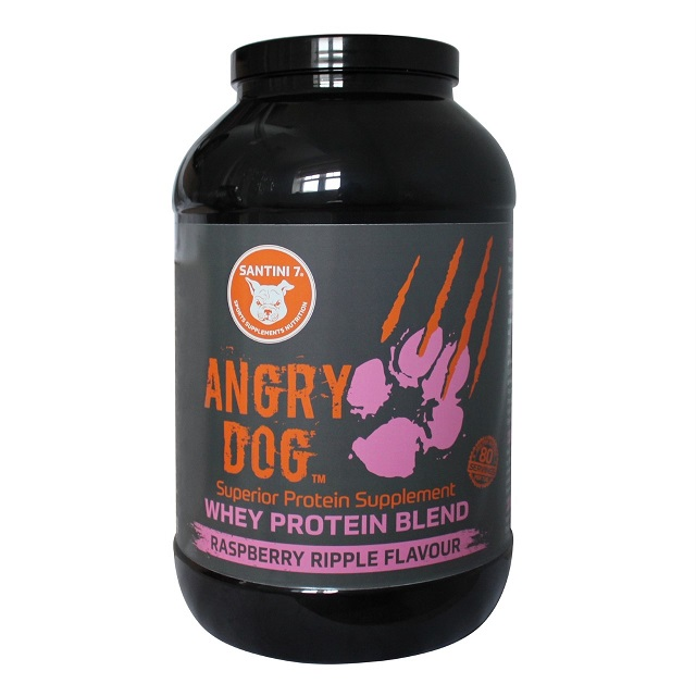 Raspberry ANGRY DOG Whey Protein