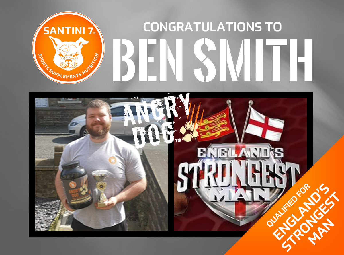 Congratulations to Ben Smith, Qualified for England's Strongest Man 2020