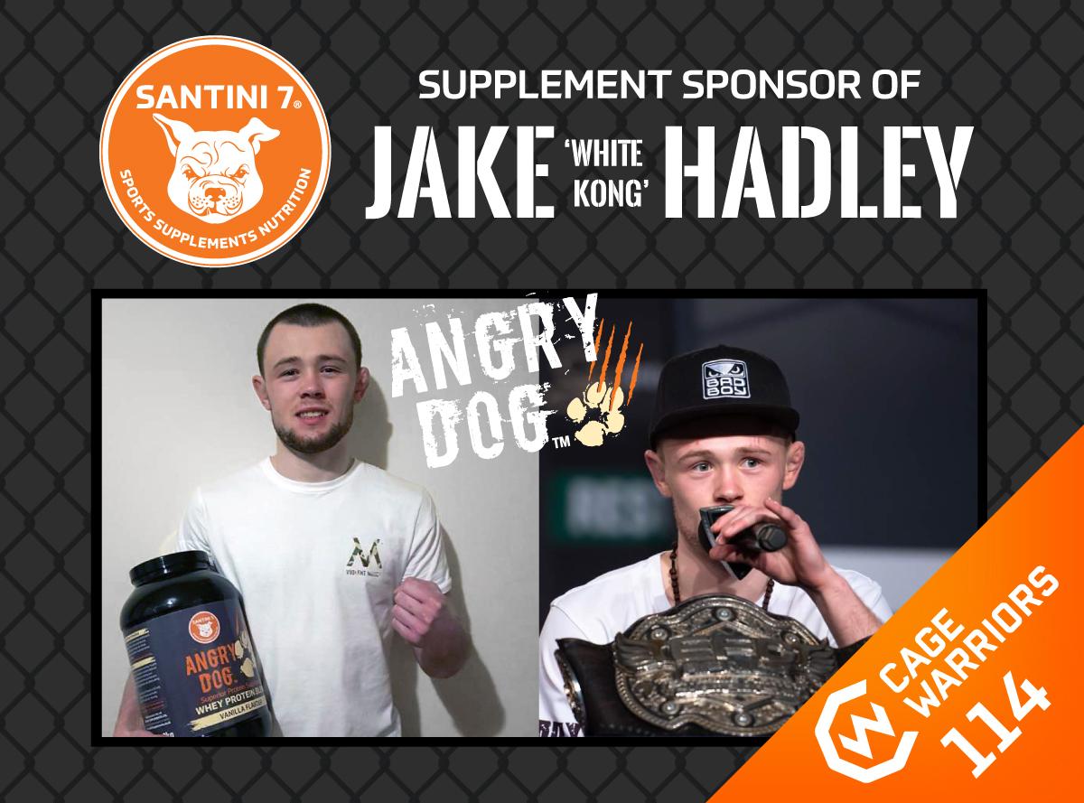 jake 'white kong' hadley supplement sponsor news