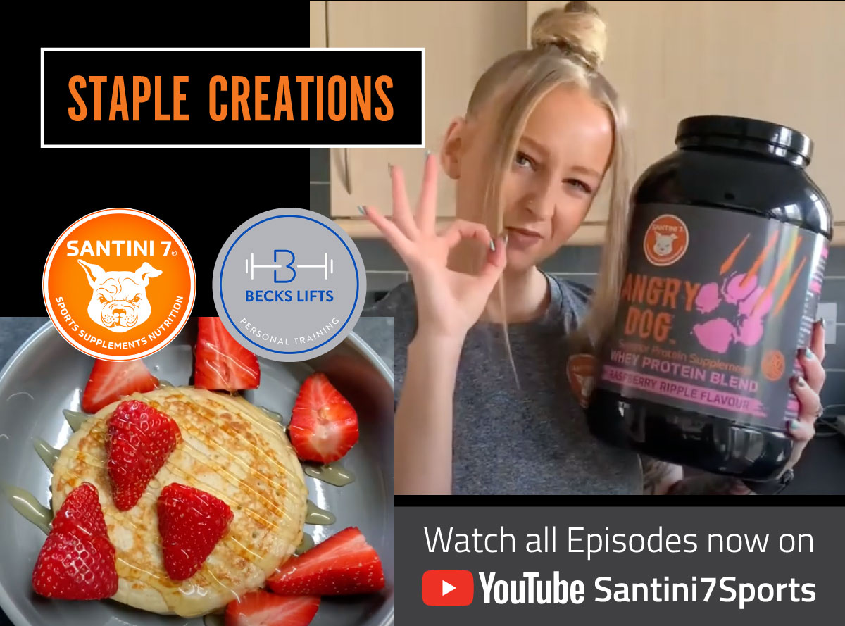 Tasty nutritional Whey Protein Powder recipes - Staple Creations