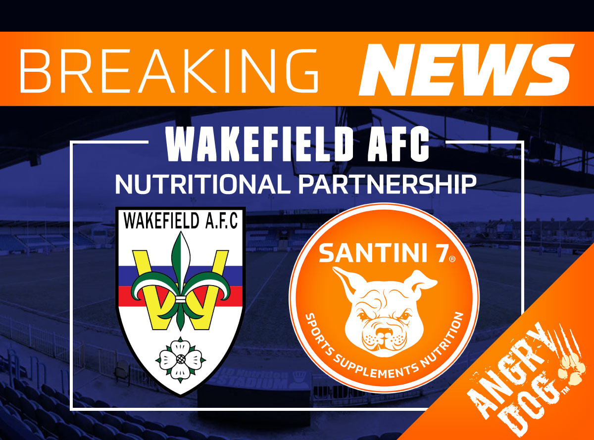 nutritional partnership with wakefield afc
