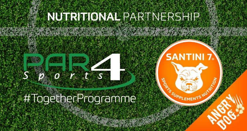 par4sports nutritional partnership