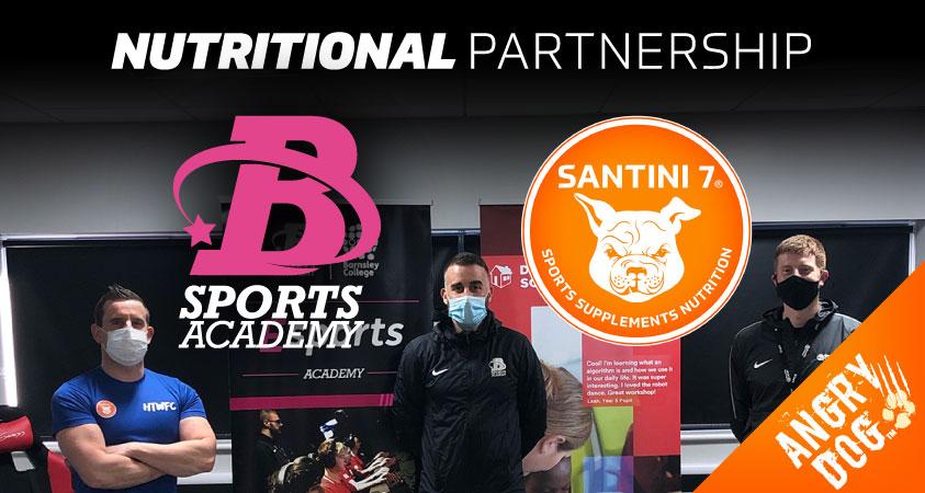 Barnsley Sports Academy Nutritional Partnership