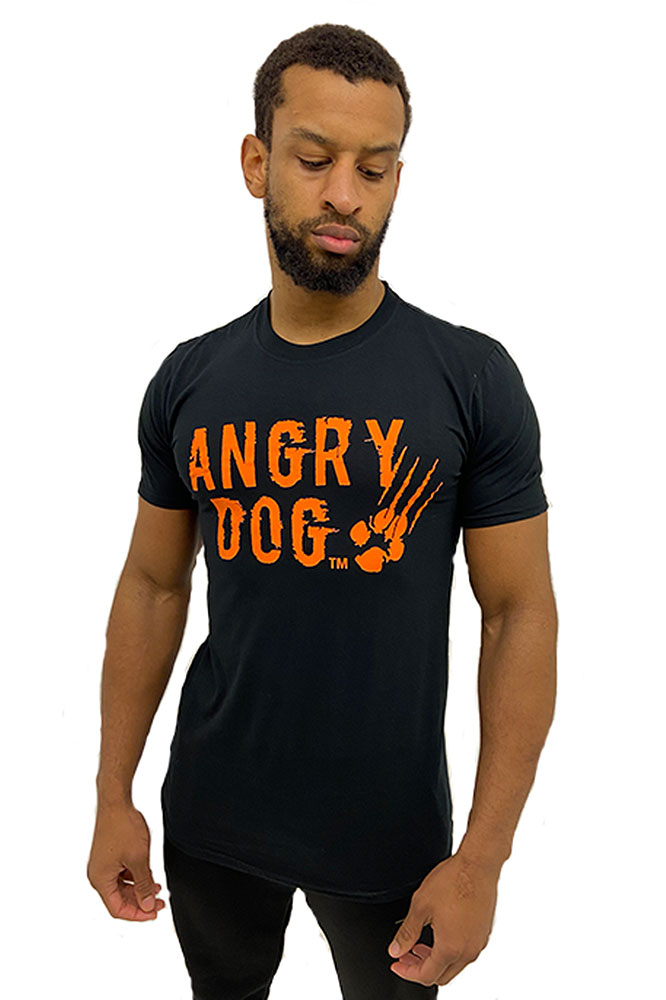 angry dog tee front