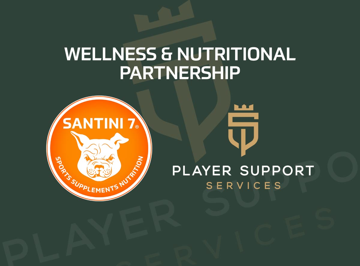 player support services wellness and nutritional partnership news